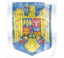 Romanian Coat of Arms Romania Symbol  Poster