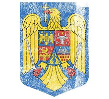 Romanian Coat of Arms Romania Symbol  Photographic Print