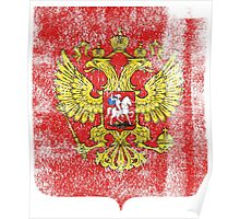 Russian Coat of Arms Russia Symbol Poster