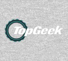 Top Geek  Kids Tee