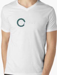 Top Geek  Mens V-Neck T-Shirt