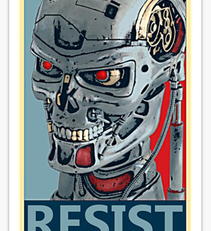 RESIST - Terminator Salvation Sticker