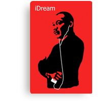 iDream - Martin Luther King Canvas Print