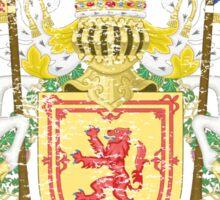 Scottish Coat of Arms Scotland Symbol Sticker