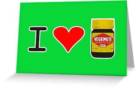 I Love Vegemite by Brother Adam