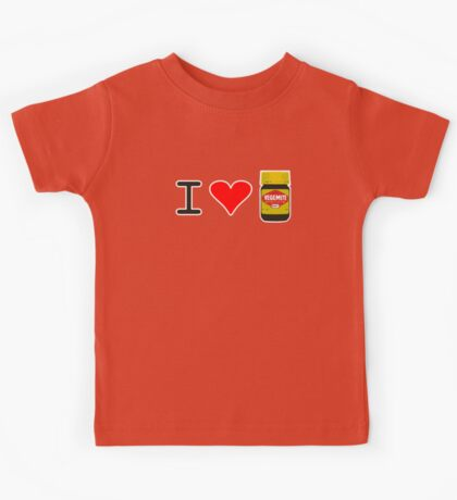 I Love Vegemite Kids Tee