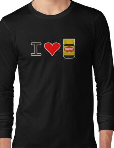 I Love Vegemite Long Sleeve T-Shirt
