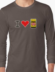 I Love Vegemite Long Sleeve T-Shirt