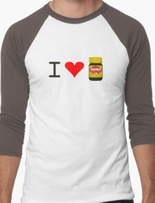 I Love Vegemite Men's Baseball ¾ T-Shirt
