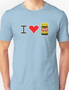 I Love Vegemite Unisex T-Shirt
