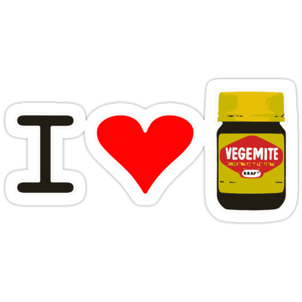 I Love Vegemite by Brother Adam