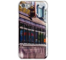 Melbourne Restaurant Tram iPhone Case/Skin