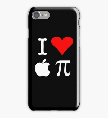 I Love Apple Pi iPhone Case/Skin