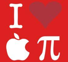 I Love Apple Pi One Piece - Long Sleeve