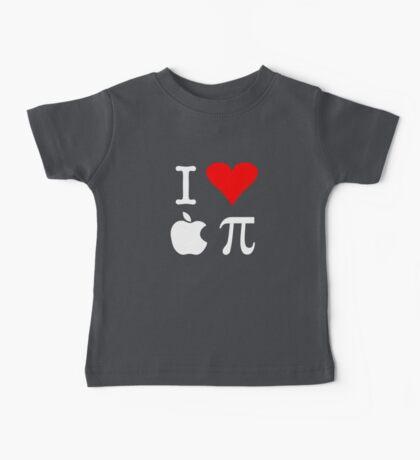 I Love Apple Pi Baby Tee