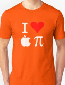 I Love Apple Pi Unisex T-Shirt