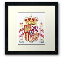 Spanish Coat of Arms Spain Symbol Framed Print