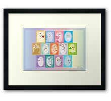 The Alluring Princesses Framed Print