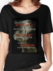 Serenity Prayer Stick © Vicki Ferrari Women's Relaxed Fit T-Shirt