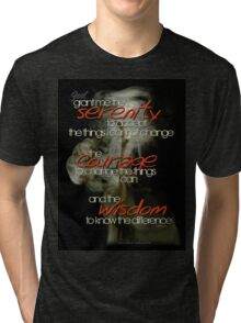 Serenity Prayer Stick © Vicki Ferrari Tri-blend T-Shirt