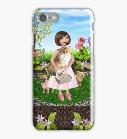 Her pets (435 Views) iPhone Case/Skin