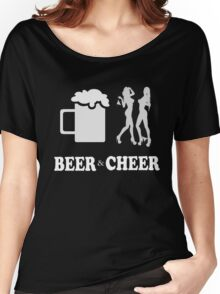 Beer & cheer - T-shirts & Hoodies Women's Relaxed Fit T-Shirt
