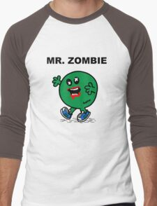 Mr Zombie Men's Baseball ¾ T-Shirt