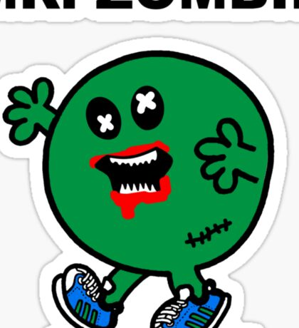 Mr Zombie Sticker