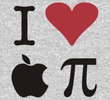 I Love Apple Pie - Alternative for light t-shirts Kids Tee