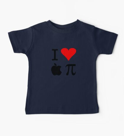 I Love Apple Pie - Alternative for light t-shirts Baby Tee