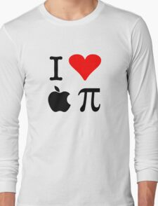 I Love Apple Pie - Alternative for light t-shirts Long Sleeve T-Shirt