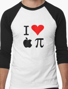 I Love Apple Pie - Alternative for light t-shirts Men's Baseball ¾ T-Shirt
