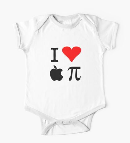 I Love Apple Pie - Alternative for light t-shirts One Piece - Short Sleeve