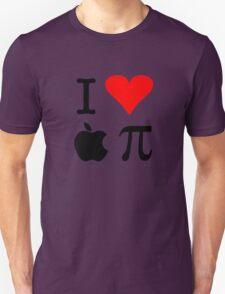 I Love Apple Pie - Alternative for light t-shirts Unisex T-Shirt