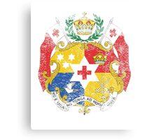 Tongan Coat of Arms Tonga Symbol Canvas Print