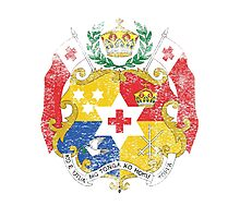 Tongan Coat of Arms Tonga Symbol Photographic Print