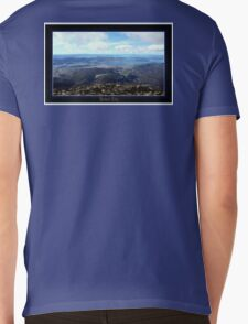 *Hobart City - Mt Wellington Vista* Mens V-Neck T-Shirt