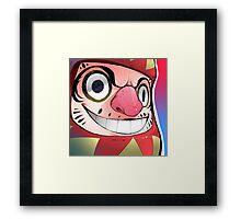 Daruma Trip Framed Print