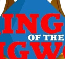 "JordanJoMo ""King of the IGWC"" Sticker"