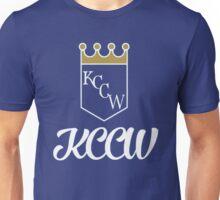 KCCW Backyard Wrestling Logo Unisex T-Shirt