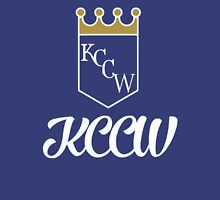 KCCW Backyard Wrestling Logo Unisex T-Shirt