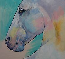 Lipizzan Stallion by Michael Creese