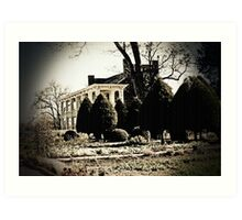 Carnton Plantation-Franklin, Tn. Art Print
