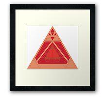 Sith Holocron Framed Print
