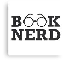 Book Nerd Canvas Print