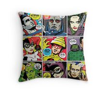 Post-Punk Baddies Throw Pillow