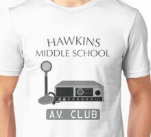 Hawkins Middle School AV Club Unisex T-Shirt