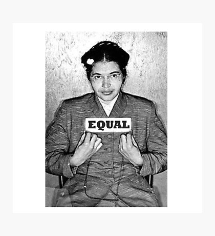 Rosa Parks equal Photographic Print