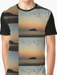 Rosslyn Bay Sunset © Vicki Ferrari Graphic T-Shirt