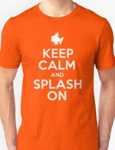 Pokemon - Keep Calm and Splash On - Magikarp Design Unisex T-Shirt
